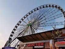 Wheel†‹himmel royaltyfri fotografi