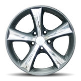Wheel. Car alloy rim on white background Stock Image