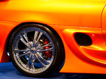 Wheel 2. Tuned Customised Cars Royalty Free Stock Photo