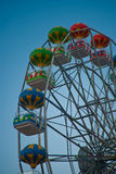 Wheel. Fun wheel in an amusement park in a summer day Stock Photos