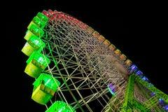 Wheel. Colorful big wheel at night Stock Photos