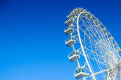 Wheel. Big wheel on  blue sky Stock Images