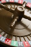 Wheel. Plastic roulette wheel Stock Photography