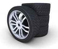 Wheel Royalty Free Stock Photo