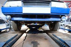 Wheel alignment angle control Stock Photos