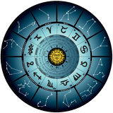 Wheel astral. Graphic illustration of the wheel astral stock illustration