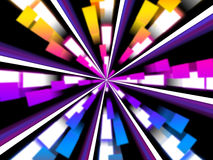 Wheel Background Means Chromatic Segments And Beams Royalty Free Stock Photo