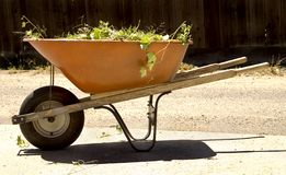 Wheel Barrel Royalty Free Stock Photo
