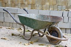 Wheel Barrow Stock Photo