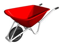 Wheel barrow Royalty Free Stock Photos