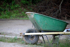 Wheel_barrow1 Stock Foto's