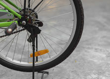 Wheel of bicycle. Royalty Free Stock Images