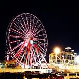 Wheel. The big wheel at ocean city maryland at night Royalty Free Stock Image