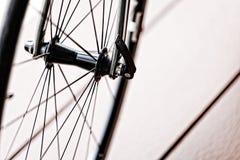 Wheel of bike Stock Image