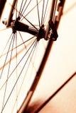 Wheel of bike Stock Photos