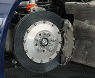 Wheel Brake. Royalty Free Stock Photo