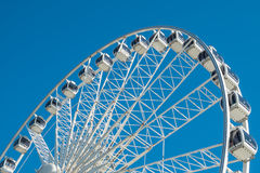 The wheel on Brighton seafront Royalty Free Stock Photos