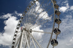 Wheel of Brisbane. The wheel of Brisbane, Australia is a Ferris wheel installation erected as part of the 20th Anniversary of World Expo 88 and 150th Anniversary Royalty Free Stock Photography