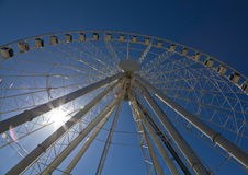 Wheel of Brisbane observation wheel. At South Bank Parkland Royalty Free Stock Photo