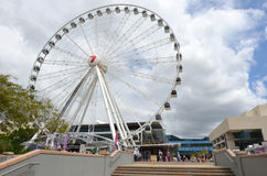 Wheel of Brisbane - Queensland Australia Royalty Free Stock Photo