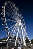 Wheel of Brisbane Vertical. View of the Wheel of Brisbane at South Bank, Brisbane, Queensland, Australia Royalty Free Stock Photos