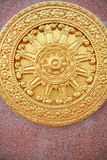 Wheel of buddha Stock Images
