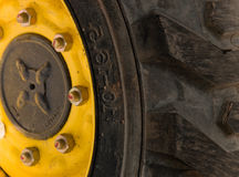 Wheel  building   mechanism Stock Photo
