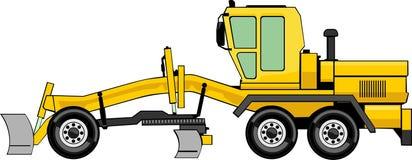 Wheel bulldozer Royalty Free Stock Photos