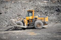 Wheel bulldozer Stock Photos