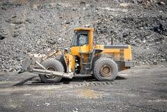 Wheel bulldozer Stock Photos