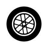 Wheel car emblem icon. Illustration design Royalty Free Stock Photo