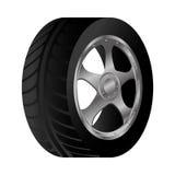 Wheel car emblem icon. Illustration design Royalty Free Stock Photos