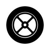 Wheel car emblem icon. Illustration design Stock Images