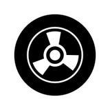 Wheel car emblem icon. Illustration design Royalty Free Stock Photography