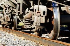 Wheel  car  iron  road Stock Images