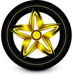 Wheel car Stock Photo