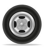 Wheel for car vector illustration Stock Images
