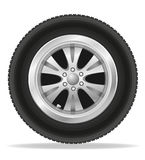 Wheel for car vector illustration Stock Photography