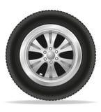 Wheel for car vector illustration Stock Photography