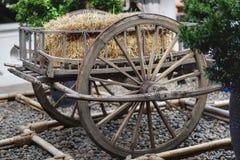 Wheel cart stock image