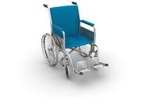 Wheel Chair. On white background Stock Photos