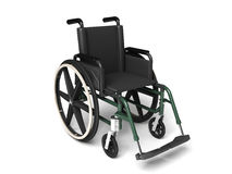 Wheel chair. Digital illustration of Royalty Free Stock Image