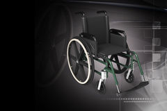 Wheel chair Stock Image