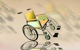 Wheel chair Royalty Free Stock Photos