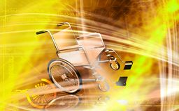 Wheel chair Stock Photos