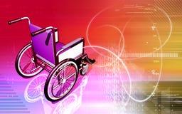 Wheel chair Stock Photography