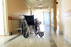 Wheel chair royalty free stock image