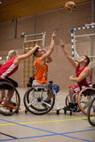 Wheel chair basketball Stock Photography