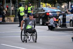 Tunnel to Towers memorial run. royalty free stock photography