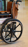 Wheel chair for patients Royalty Free Stock Image